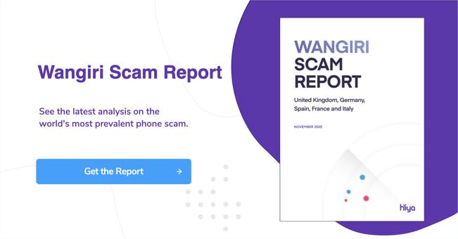 Get the Wangiri scam report